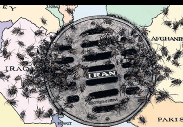 اثر کاریکاتوریست لسآنجلس تایمز از تفنگداران آمریکایی +عکس