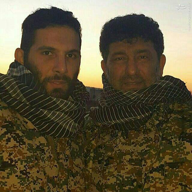 عکس/ سعید حدادیان و محمد حسین حدادیان به جمع مدافعان حرم پیوستند