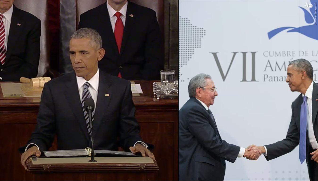 آخرین اعترافات باراک اوباما + عکس و فیلم