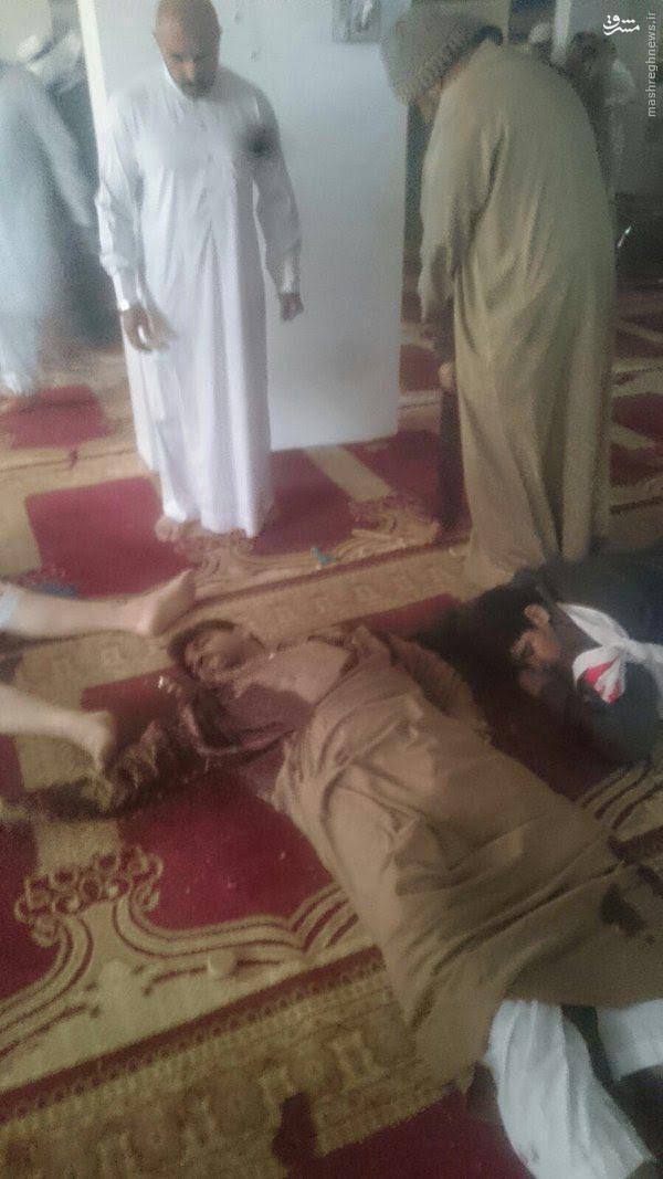 حمله تروریستی به مسجدی در شرق عربستان/ ۳ نفر شهید شدند +عکس