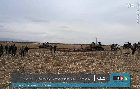 نبردهای خونین تروریستها در شمال حلب+تصاویر(+18)