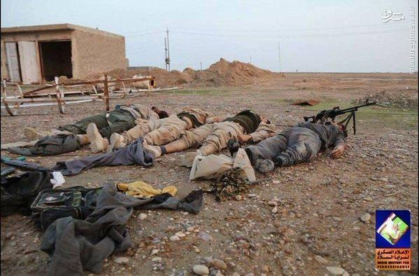 نبردهای سد سامراء به روایت داعش+تصاویر
