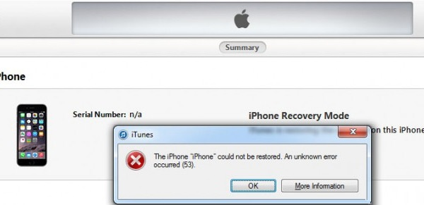 اپل ضمن عذرخواهی از کاربران، مشکل خطای 53 آیفون را رفع کرد