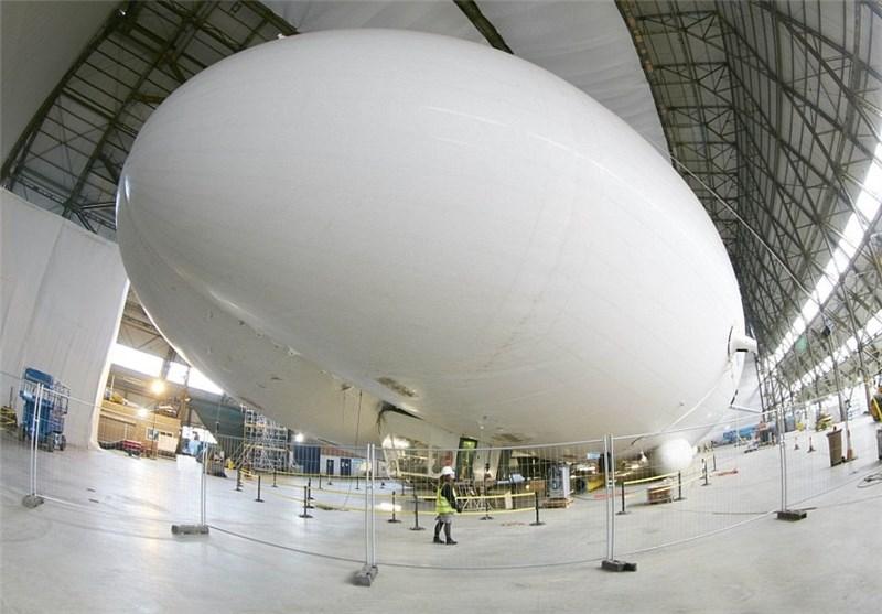 رونمایی از بزرگترین کشتی هوایی دنیا +تصاویر