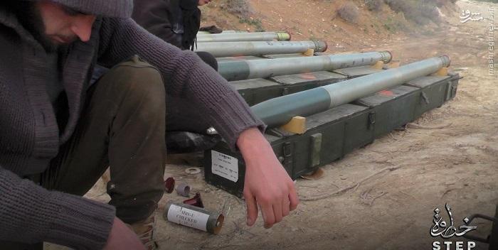تسلیحات مدرن اهدایی ترکیه به تروریستها در سوریه+عکس