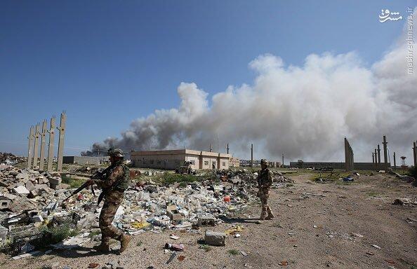 درگیریهای ابوغریب بغداد به روایت داعش+عکس