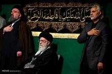 برنامه عزاداری ایام فاطمیه(س) در حضور رهبر معظم انقلاب
