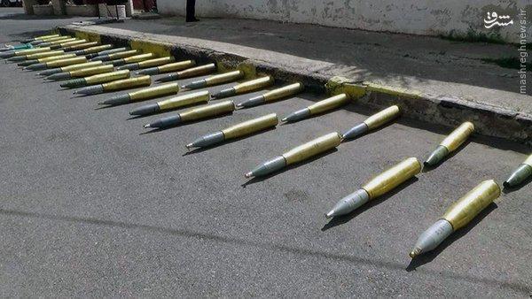 کشف تسلیحات اسراییلی از تروریستها در سوریه+عکس