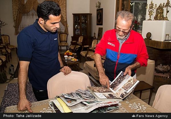 کاوه: روی عکسی که از حضرت امام گرفتم، قیمت نمیگذارم