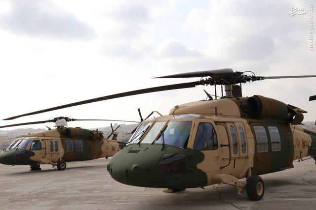 عکس/ هدیه نظامی آمریکا به اردن