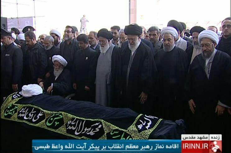 یار صادق انقلاب پس از 37 سال خدمت با تشییع باشکوه مردم مشهد به دیار حق شتافت +تصاویر