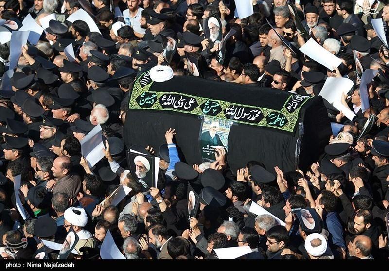 یار صادق انقلاب پس از 37 سال خدمت با تشییع باشکوه مردم مشهد به دیار حق شتافت +فیلم و تصاویر