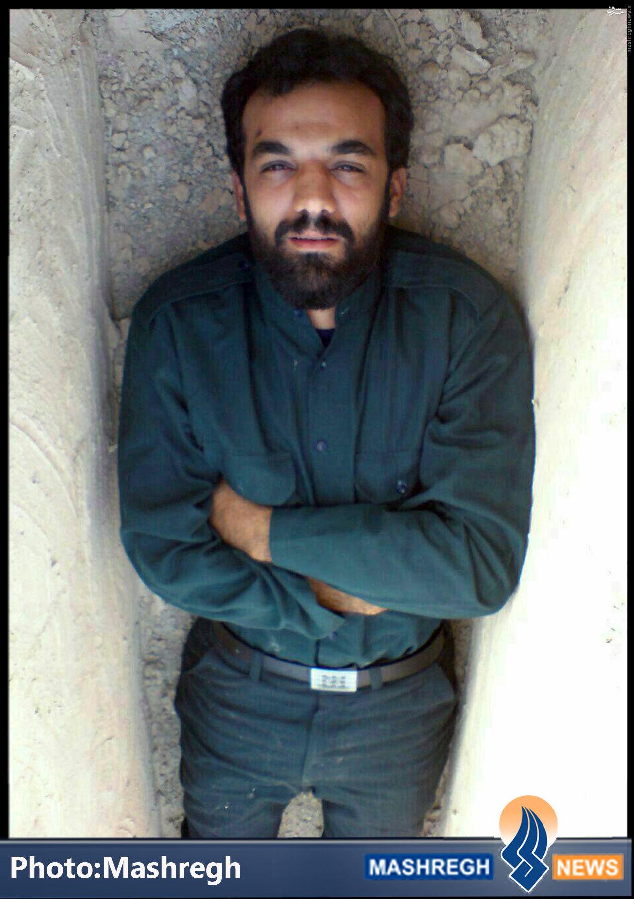 عكس/ شهیدی که جسد ندارد در «قبر»