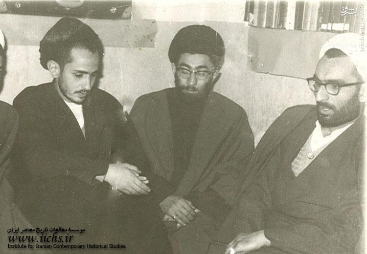 عکس/ سه یار انقلابی در مشهد