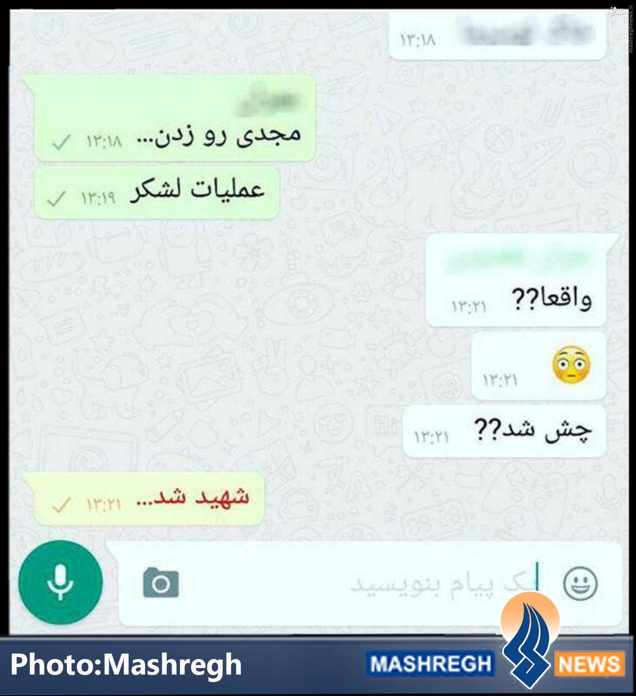 یک چَت ساده در «whatsapp»+عکس
