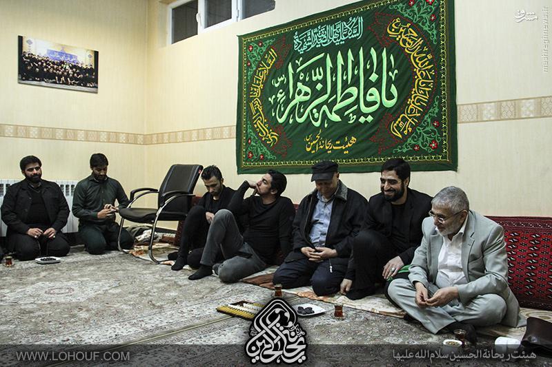 عکس/ سید مهدی رحمتی در کنار حاج منصور