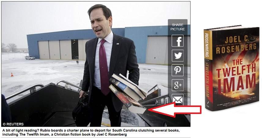 نامزد جمهوری خواه آمریکا چه کتاب مهدوی می خواند؟ +عکس