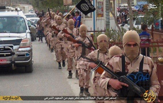 پادگان آموزشی داعش در موصل + تصاویر