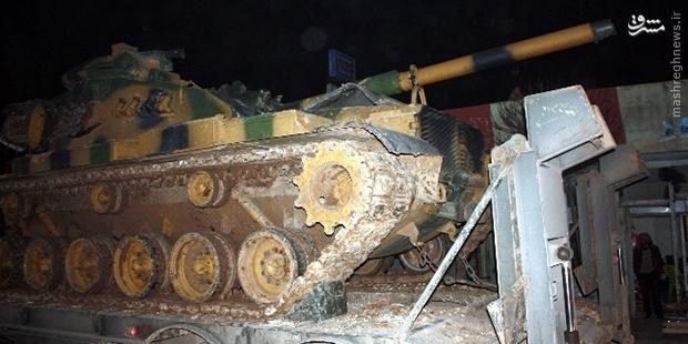 عکس/ حرکت تانک های ترکیه به سمت ایران