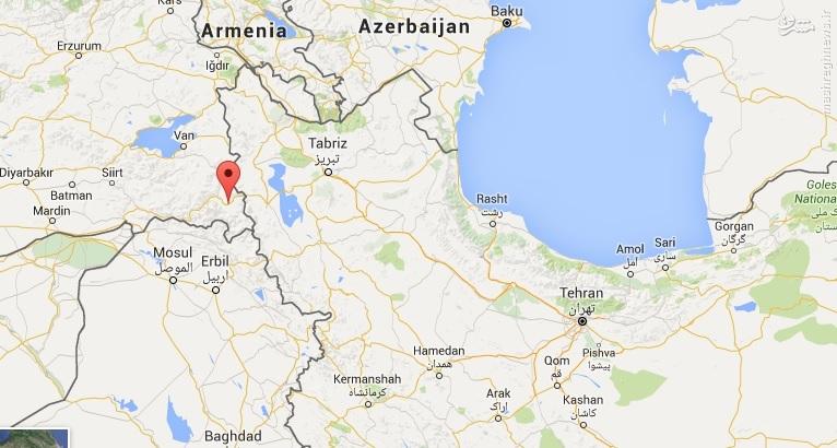 عکس/ حرکت تانک های ترکیه در نزدیکی مرز ایران
