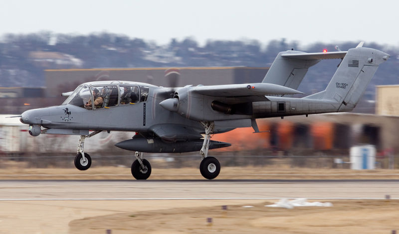 هواپیمای 50 ساله به جنگ داعش رفت+عکس