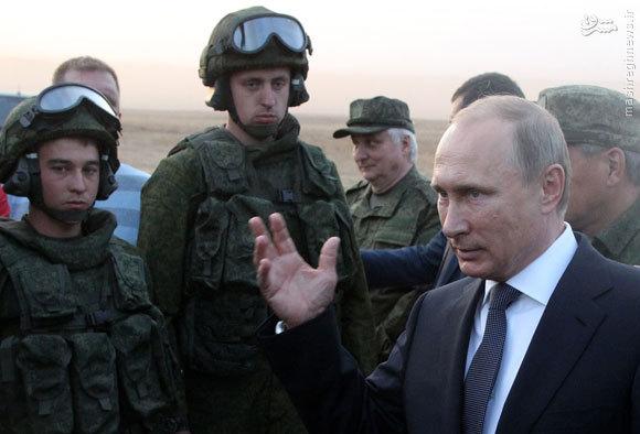 پوتین در عقبنشینی تاکتیکی از سوریه هوشمندی سیاسی به خرج داد +فیلم