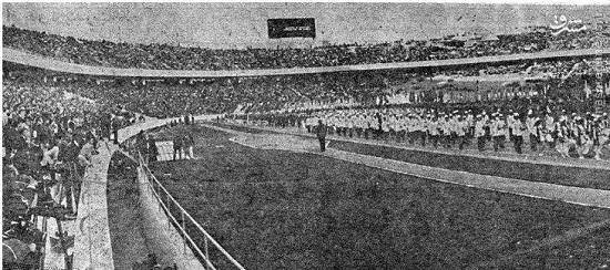 عکسهای کمیاب (96)/ اولین دیدار برگزارشده در استادیوم آزادی