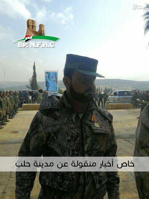 تقدیر ارتش سوریه از فرماندهان روس در حلب+تصاویر