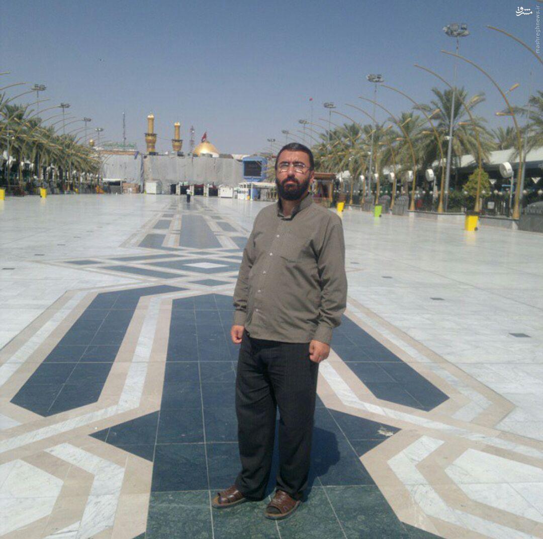شهادت مدافع حرم ایرانی در سوریه+تصاویر