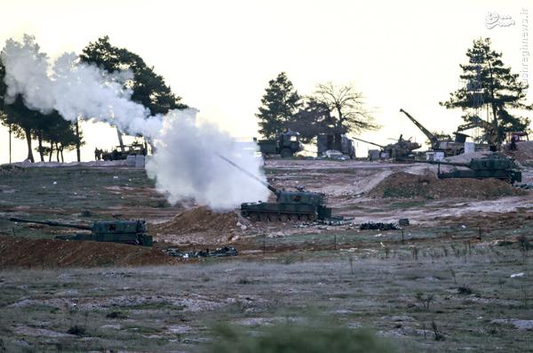 ترکیه در موقعیت جنگی بالفعل گرفتار شده است