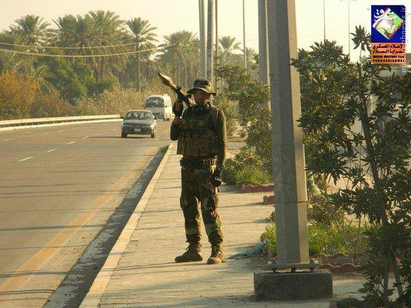 حفاظت 24 ساعته سرایاالسلام از سامراء+تصاویر