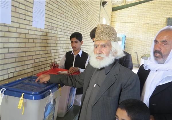 پیرمرد 128 ساله ریگانی رأی داد