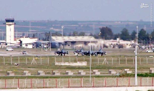 عکس/ جنگنده های سعودی در ترکیه