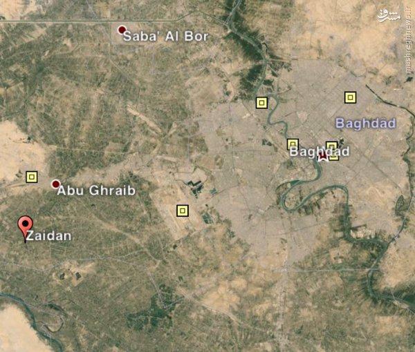 هلاکت انتحاری های داعش در ابوغریب+عکس