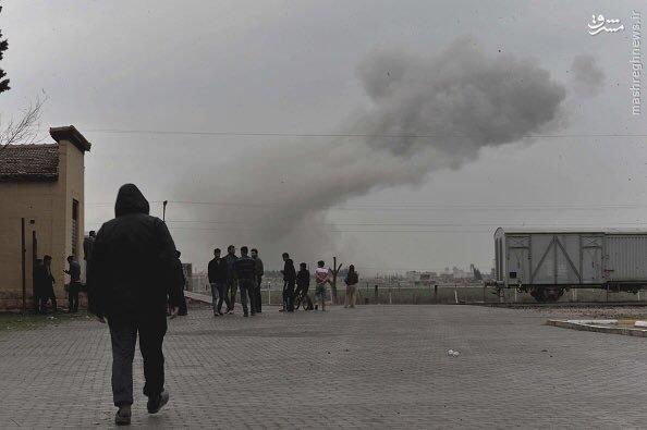 حمله داعش به تل ابیض سوریه+عکس