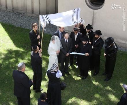 عروسی مذهبی یهودیان موسوم به چوپاه