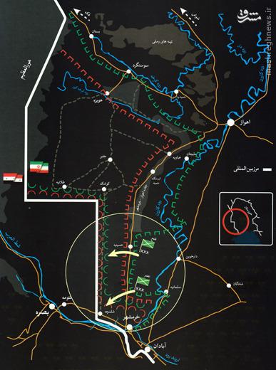 آنچه باید درباره عملیات «بیت المقدس» بدانیم+عکس و نقشه