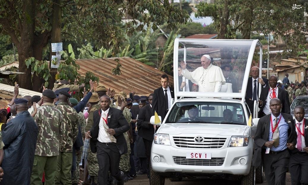 پایان سفر شش روزه پاپ به کانونهای بحران آفریقا