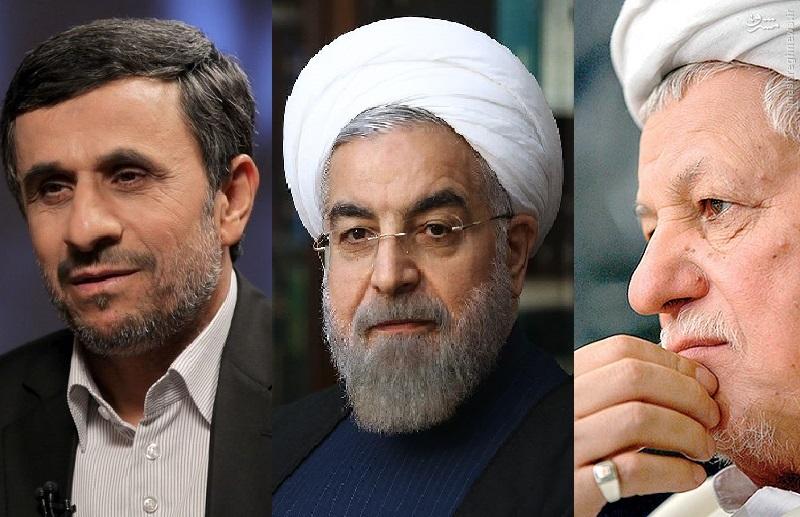 دو قطبی هاشمی و روحانی با احمدی نژاد