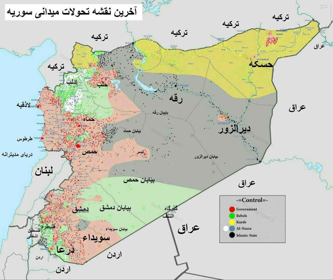 آغاز مرحله «ما بعد تدمر» در شرق سوریه/ قریتین، دیرالزور و رقه اهداف بعدی عملیات محور مقاومت/ تک و پاتک خونین داعش و القاعده در القلمون + عکس، فیلم و نقشه