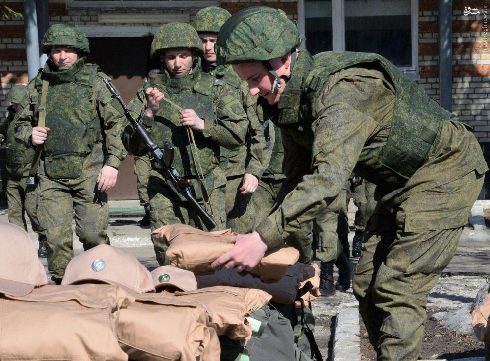 اعزام تیم خنثی سازی بمب روسیه با سوریه+عکس