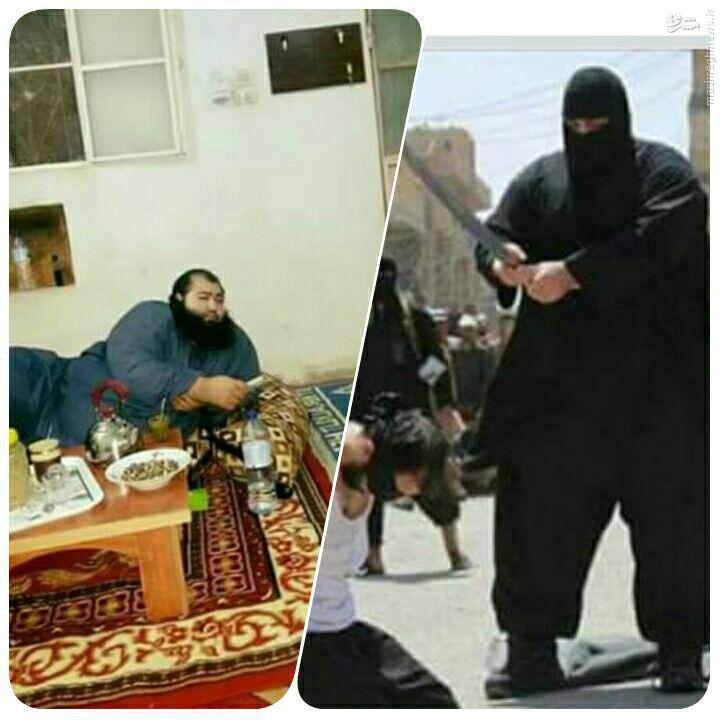 شناسایی جلاد سنگین وزن داعش+عکس
