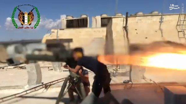 فیلم/انهدام تانک کردهای سرویه توسط ارتش آزاد