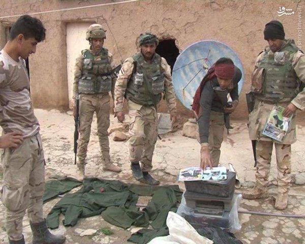 تصاویر صدام در مقرهای داعش در حنوب موصل+عکس