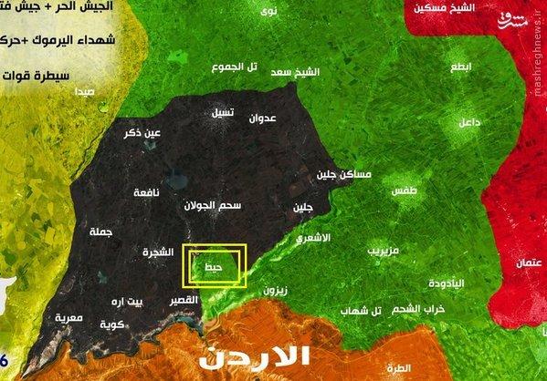 سران داعش جنوب سوریه تحت تعقیب گروههای رقیب+عکس