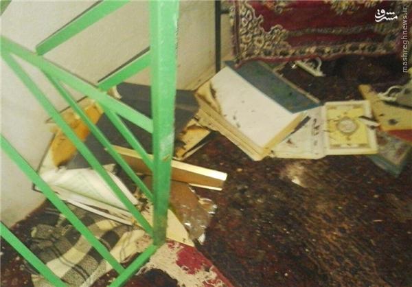 عکس/تخریب مرقد صحابی پیامبر در سنندج
