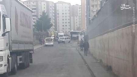 انفجار در نزدیکی ترمینال دیاربکر ترکیه+عکس