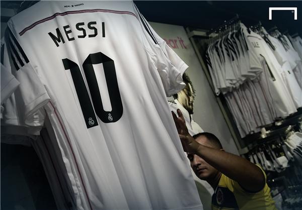 نام مسی روی پیراهن رئال در آستانه ال کلاسیکو +عکس