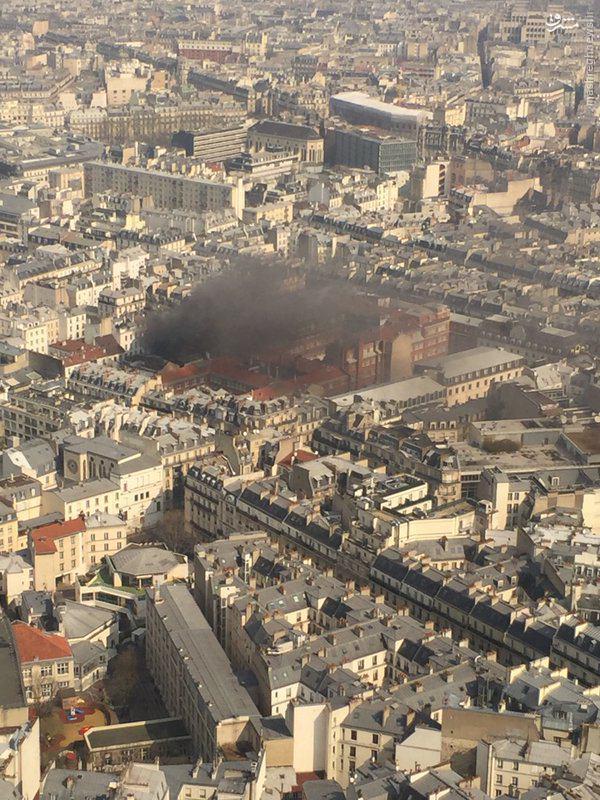 وقوع انفجار جدید در پاریس +عکس