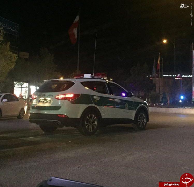 عکس/ ماشین شاسی بلند گشت نیروی انتظامی